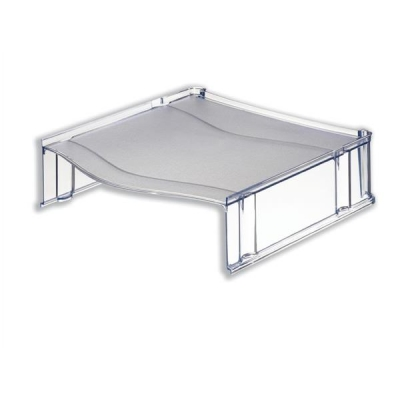 Universal Riser Platform for Letter Trays Clear