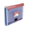 Concord Expanding Organiser File with Multicoloured Dividers 13-Part A4 Clear Ref 7109-PFL