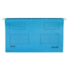 Bantex Flex Suspension File Kraft V-Base 15mm Square 30mm Foolscap Blue Ref 100331437
