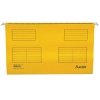 Bantex Flex Suspension File Kraft V-Base 15mm Square 30mm Foolscap Yellow Ref 100331438