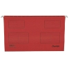 Bantex Flex Suspension File Kraft V-Base 15mm Square 30mm Foolscap Red Ref 100331440