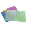 Rexel Ice Display Book Polypropylene 10 Pockets A4 Assorted Translucent Covers Ref 2102036 [Pack 10]