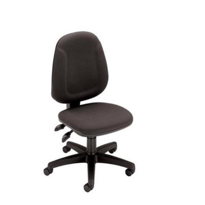 Trexus Plus High Back Chair Asynchronous Seat W460xD450xH460-590mm Back H510mm Charcoal