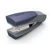 Rexel Centor Half Strip Stapler Vertical 65mm Throat 26/6 24/6 for 20 Sheets Silver and Blue Ref 2100596