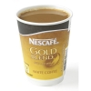 Nescafe & Go Gold Blend White Coffee Foil-sealed Cup for Drinks Machine Ref 12224154 [Pack 8]