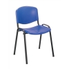 Trexus Stacking Chair Polypropene with Seat W460xD390xH430mm Blue