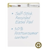 Meeting Chart Pad Recycled Self Adhesive Repositionable 30 Sheets A1 [Pack 2]