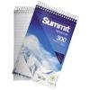 Summit Notebook Wirebound Headbound 60gsm 300pp 125x200mm Ref 100080210 [Pack 5]