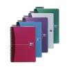 Oxford Office Notebook Wirebound Polypropylene A5 Random Colour Ref 100101300 [Pack 5]
