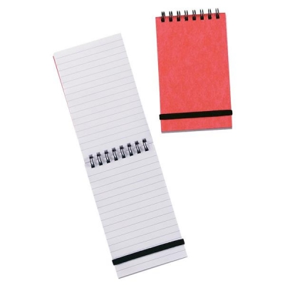 Summit Notebook Wirebound with Elastic Band Feint Ruled 60gsm 192pp 127x76mm Ref 100080058 [Pack 10]