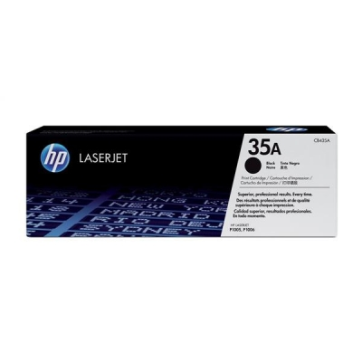 Hewlett Packard [HP] No. 35A Laser Toner Cartridge Page Life 1500pp Black Ref CB435A
