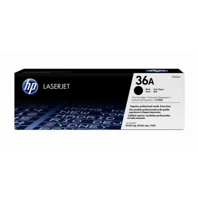 Hewlett Packard [HP] No. 36A Laser Toner Cartridge Page Life 2000pp Black Ref CB436A