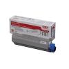 OKI Laser Toner Cartridge Page Life 8000pp Black Ref 43865708
