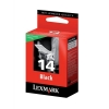 Lexmark No. 14 Inkjet Cartridge Return Program Page Life 175pp Black Ref 18C2090E