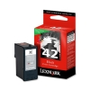 Lexmark No. 42 Inkjet Cartridge Return Program Page Life 220pp Black Ref 18Y0142E