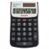 Aurora EcoCalc Calculator Handheld Recycled Solar Power 8 Digit 4 Key Memory Ref EC101