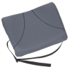 Fellowes Slimline Back Support Soft-touch Fabric with Adjustable Strap Graphite Ref 9190901