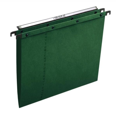 Elba Ultimate A20 Suspension File Manilla V-Base Foolscap Green Ref 100330318 [Pack 25]