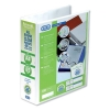 Elba Panorama Presentation Lever Arch File 2-Ring A4 White Ref 400008436 [Pack 5]