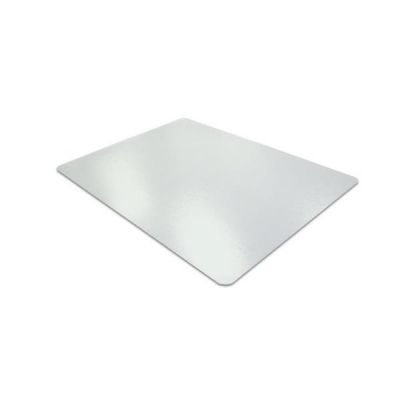 Floortex Chair Mat Anti Slip Protective Adhesive for Hard Floors Rectangular 1190x890mm Translucent