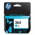 Hewlett Packard [HP] No. 364 Inkjet Cartridge Page Life 300pp Cyan Ref CB318EE #ABB