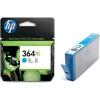 Hewlett Packard [HP] No. 364XL Inkjet Cartridge Page Life 750pp Cyan Ref CB323EE #ABB