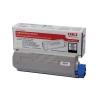 OKI Laser Toner Cartridge Page Life 8000pp Black Ref 43865724