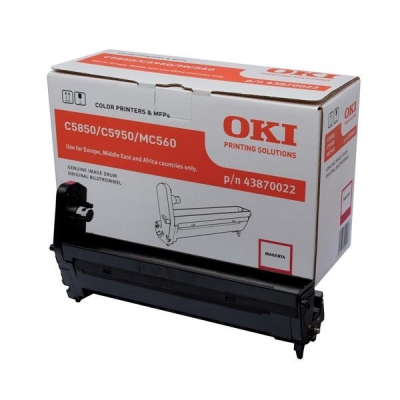 OKI Laser Drum Unit Page Life 20000pp Magenta Ref 43870022