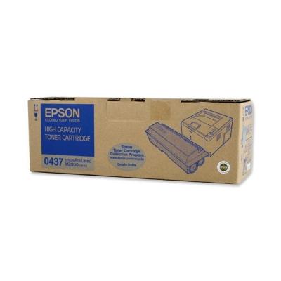 Epson S050437 Laser Toner Cartridge High Yield Black Ref C13S050437