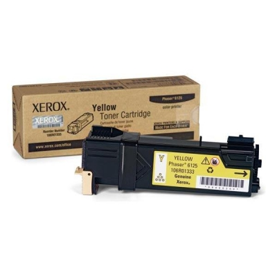 Xerox Laser Toner Cartridge Page Life 1000pp Yellow Ref 106R01333