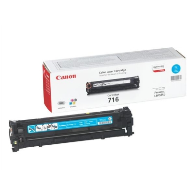 Canon 716C Laser Toner Cartridge Page Life 1500pp Cyan [for LBP5050/5050n] Ref 1979B002