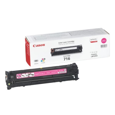 Canon 716M Laser Toner Cartridge Page Life 1500pp Magenta [for LBP5050/5050n] Ref 1978B002