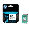 Hewlett Packard [HP] No. 343 Inkjet Cartridge Page Life 260pp Colour Ref C8766EE-abb