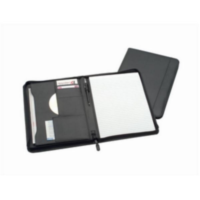 5 Star Zipped Conference Folder Portfolio Capacity 20mm W248xH329mm A4 Black