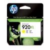 Hewlett Packard [HP] No. 920XL Inkjet Cartridge Page Life 700pp Yellow Ref CD974AE#BGX