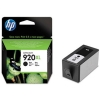 Hewlett Packard [HP] No. 920XL Inkjet Cartridge Page Life 1200pp Black Ref CD975AE#BGX