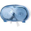 Tork Toilet Roll Dispenser Wall-mounted for Coreless Mid Size Toilet Roll Lockable Blue Ref 5022251