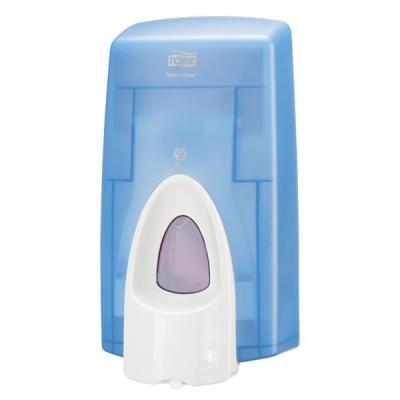 Tork Foam Soap Dispenser for 0.8 Litre Refill Cartridges Casing Blue Ref 401795