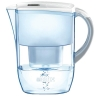 Brita Fjord Water Filter with Pour-through Flip-top Lid and Cartridge 2.6 Litre Capacity White Ref 100007