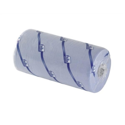 5 Star Couch Roll Towelling Part-recycled 2-ply 10 Inch 130 Sheets W251xL457mm Blue