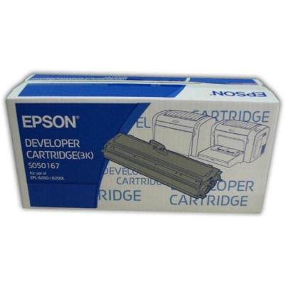Epson S050167 Laser Toner Cartridge Page Life 3000pp Black Ref C13S050167