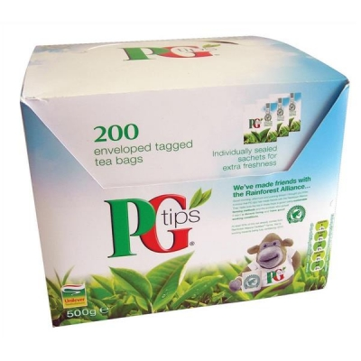 PG Tips Tea Bags Envelopes Ref A04092 [Pack 200]