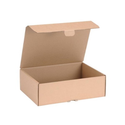 Mailing Carton Easy Assemble M 325x240x105mm Brown [Pack 20]