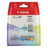 Canon CLI-521 Inkjet Cartridges Cyan/Magenta/Yellow Ref 2934B007 [Pack 3]