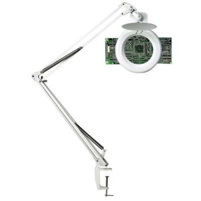 Unilux Magnifier Lamp 3 Diopters H1000mm 22W G10Q White
