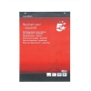 5 Star Flipchart Pad Perforated 40 Sheets A1 Feint 20mm Squared [Pack 5]