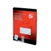 5 Star Labels Laser Copier and Inkjet 1 per Sheet 297x210mm [100 Labels]