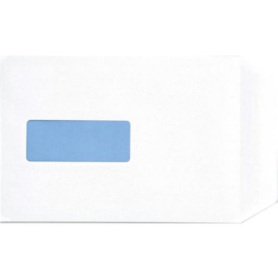 5 Star Envelopes Pocket Peel and Seal Window 100gsm White C5 Ref 906624 [Pack 500]
