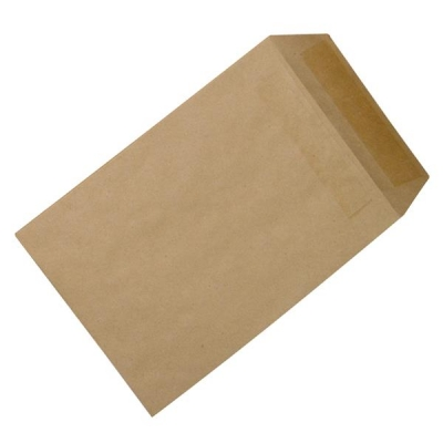 5 Star Envelopes Mediumweight Pocket Press Seal 90gsm Manilla 254x178mm [Pack 500]