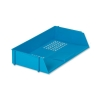 5 Star Letter Tray Wide Entry High-impact Polystyrene Stackable Blue
